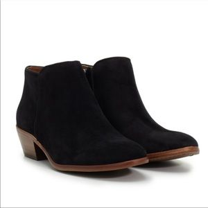 Sam Edelman Petty Ankle Booties 6 Black